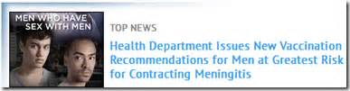 avian flu diary nyc updates msm meningitis warning