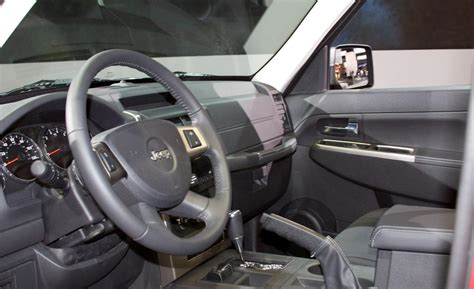 jeep liberty 2010 interior car and driver