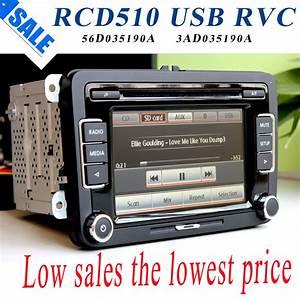Autoradio Volkswagen Rcd 510 : vw car radio stereo rcd510 usb reverse original radio with ~ Kayakingforconservation.com Haus und Dekorationen