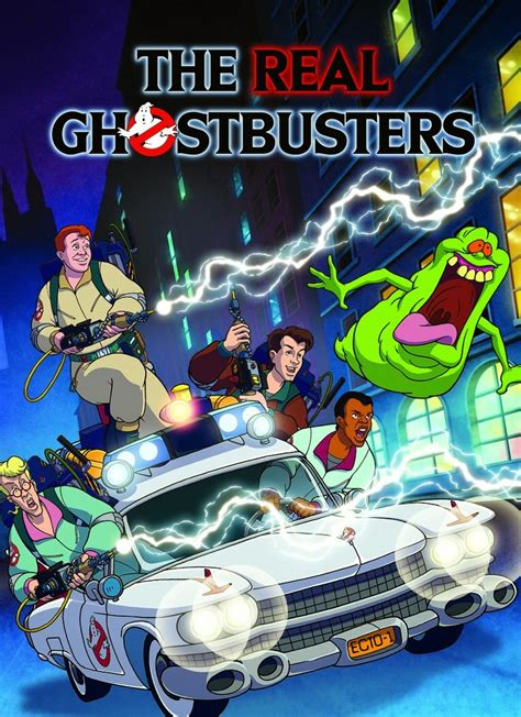 Egon And Janine Héroes Animados The Real Ghostbusters