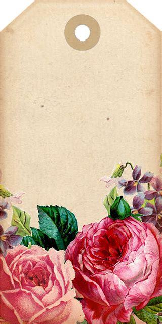 illustration tags decorative scrapbook roses