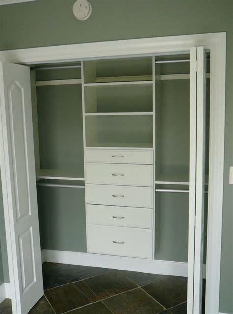 Org Closets free standing closet with doors idea