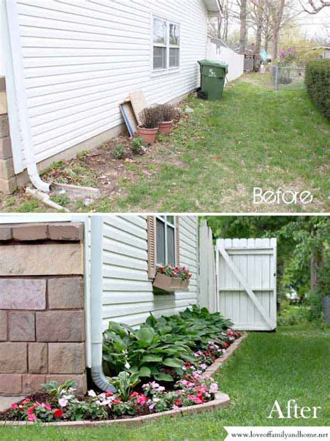 cheap ways to do your garden 20 easy and cheap diy ways to enhance the curb appeal amazing diy interior home design