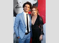 Tyler Posey and Lucy Hale at the