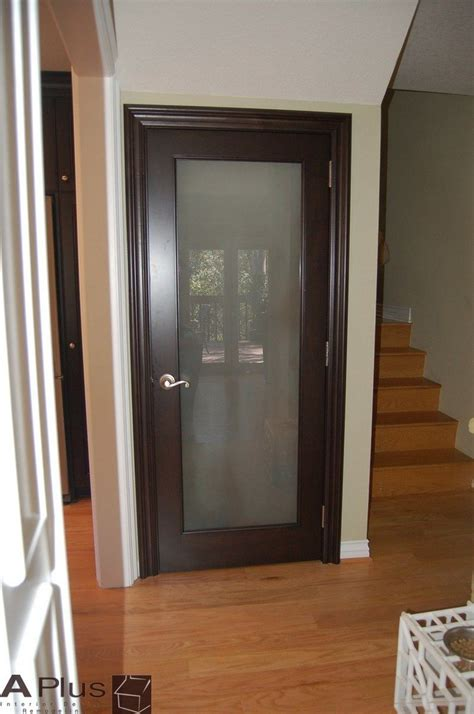 frosted glass doors 1000 images about pantry door on
