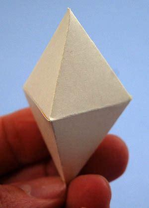 triangular dipyramid