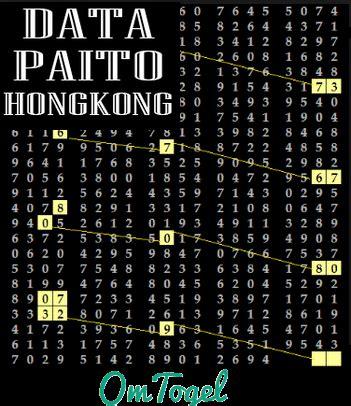 data hk paito pengeluaran hk  sampai  om togel
