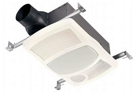exhaust fan with light and heater broan nutone 765hfl 100 cfm ventilation fan with heater