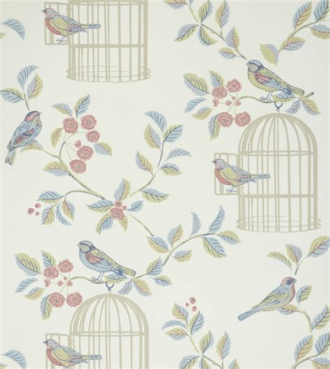 chambre d hote insolite shabby chic songbird wallpaper eau de nil photo de
