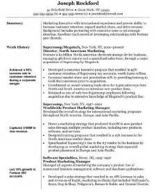 Pics Photos - Marketing Resume Templates