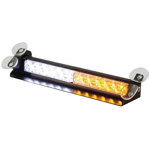 led light bar home depot buyers products company led dashboard mount amber clear