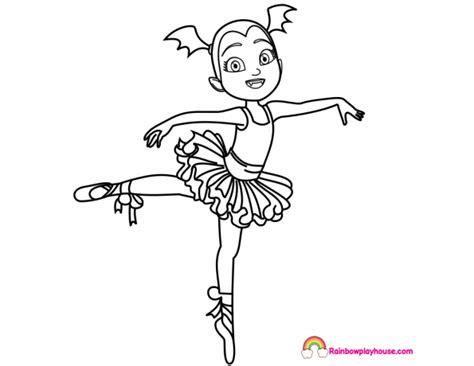 Angelina Ballerina Coloring Page - Eskayalitim