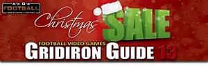 Christmas Sale  Gridiron Guide 13