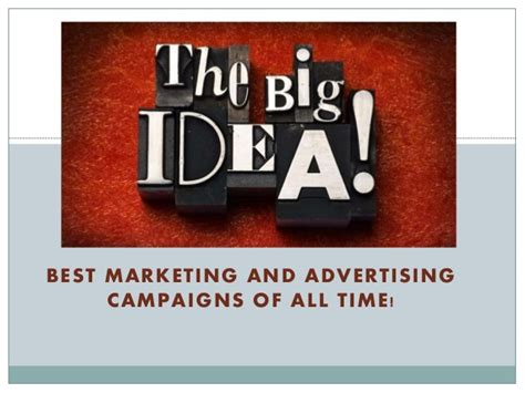 Best Advertising Brief Knowledge On Best Advertising Caigns Of All Times