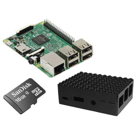 boitier ordinateur de bureau raspberry pi 3 starter kit noir pc de bureau raspberry