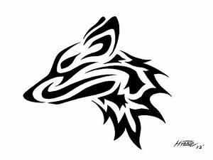Tribal Fox Head Tattoo   www.imgkid.com - The Image Kid ...