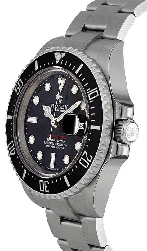 Authentic New 126600 Rolex Sea-Dweller Black Dial Men's ...