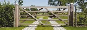 Portail De Jardin : portail bois jardin portillon pour jardin atsplus ~ Melissatoandfro.com Idées de Décoration