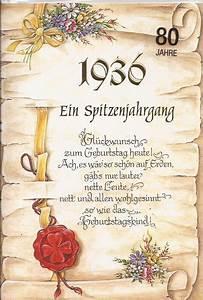 Geldgeschenke Zum 80 Geburtstag : geburtstagskarte zum 80 geburtstag ein spitzenjahrgang 1936 bsb ebay ~ Frokenaadalensverden.com Haus und Dekorationen