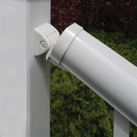 Shop Freedom Winchester White Aluminum Stair Post