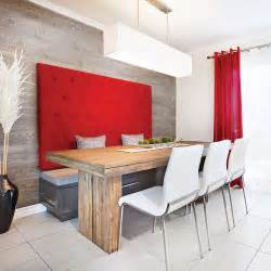 banquette design dans une cuisine au look lounge salle 195