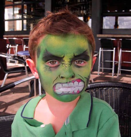 maquillaje halloween pintacaras disfraz niños infancia