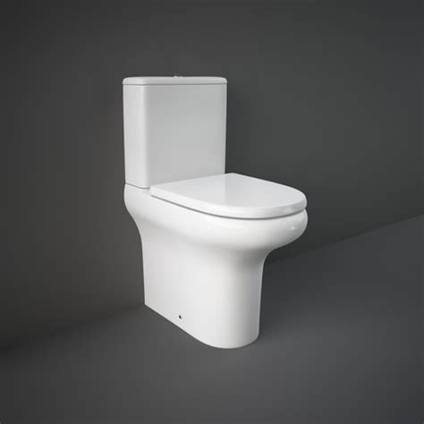Water Closet Media by Rak Compact Comfort Height 45cm Rak Ceramics