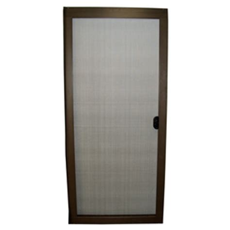 shop ritescreen bronze aluminum sliding screen door