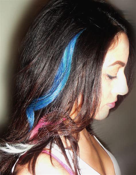 Beauty Meets Nerd Tie Dye Rainbow Dip Dyed Ombrè Hair