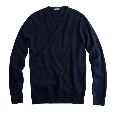 crewneck sweater j crew crewneck sweater in blue for