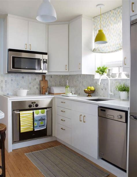 Decorating Ideas For Small Kitchens by 30 Best Small Kitchen Decor And Design Ideas For 2019