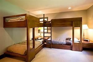 Lit à étage : le lit mezzanine nos id es pour un int rieur moderne ~ Teatrodelosmanantiales.com Idées de Décoration