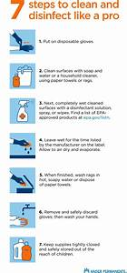 How To Clean And Disinfect Like A Pro