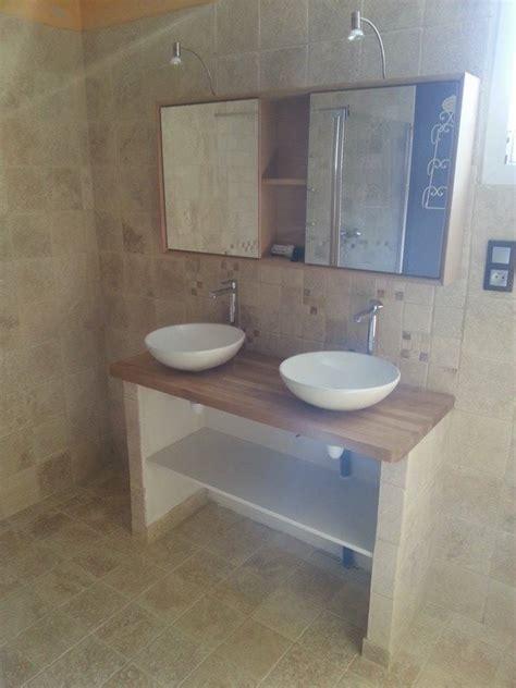 béton ciré sur carrelage plan de travail cuisine salle de bain renovation faience carrelage plomberie