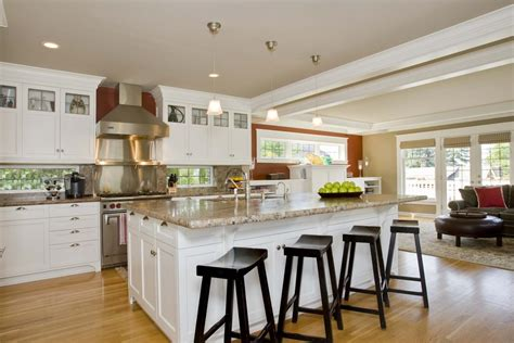 kitchen island with seating area 32 best kitchen islands with seating safe home 8264