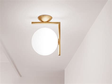buy the flos ic c w1 wall light at nest co uk