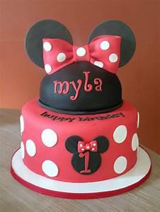 minnie mouse birthday cake | kaelynn and weston double ...