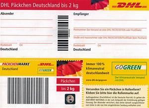 Dhl Versand Deutschland : dhl p ckchen versandmarke bis 2kg freigemacht versandlabel paketmarke ebay ~ Orissabook.com Haus und Dekorationen