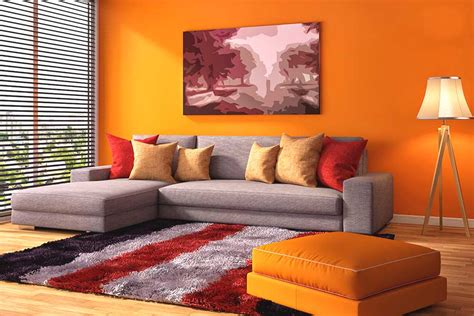 Orange Wandfarbe by Orange Pur Energiekur F 252 R Ihre W 228 Nde Farben Magazin