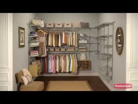 Fast Track Closet System by How To Install The Rubbermaid Fasttrack Organization Sy