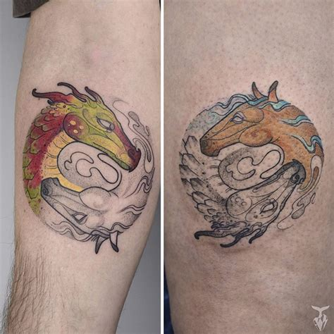 I Create Nature And Art Nouveau Inspired Tattoos | Bored Panda