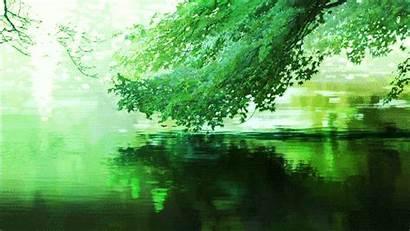 Aesthetic Nature Gifs Garden Dark Wallpapers Anime