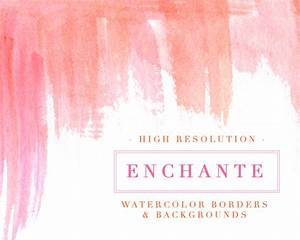 Enchante Watercolor Paint Strokes Splash Clipart