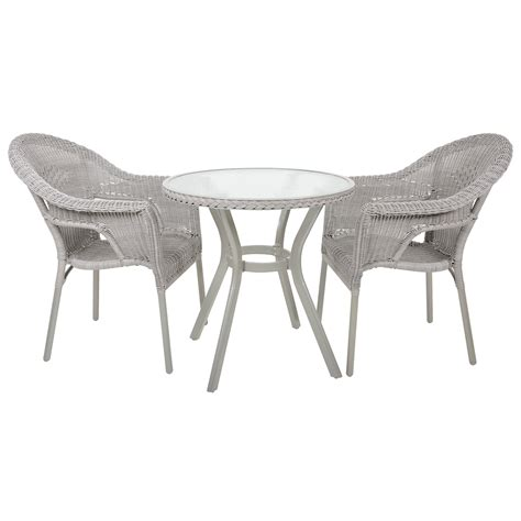 2 chair table set havana bistro set rattan wicker 2 seat garden patio