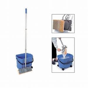 Produit Pour Laver Le Sol : chariot de lavage compact numatic mm30 seau roulettes balai essoreur toutotop ~ Melissatoandfro.com Idées de Décoration