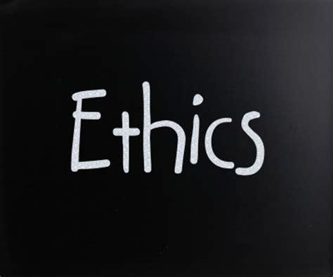 ethics  integrity  crisis management passion