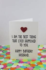 Funny Husband Birthday Cards