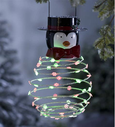 Solar Powered Outdoor Christmas Decorations