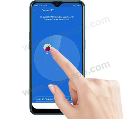 shareit android phone pc connect applications transfer apps data using install