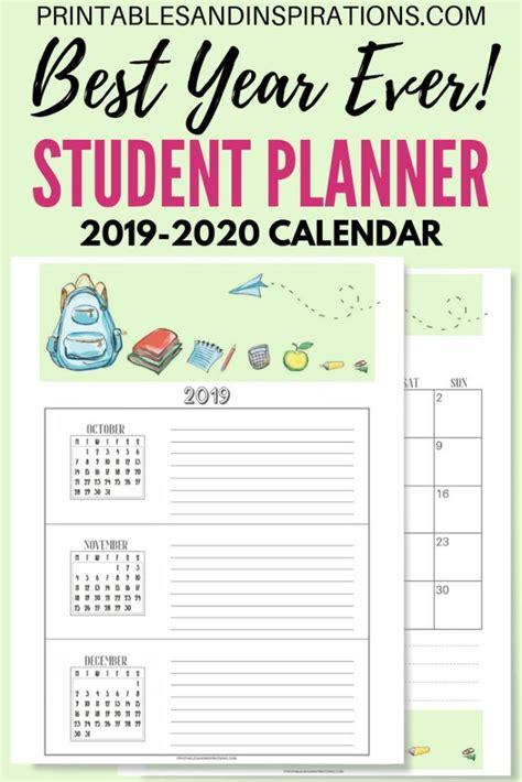 student planner printable binder updated